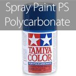 Tamiya Spray Paint PS (Polycarbonate Spray)