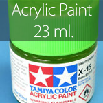 Tamiya Acrylic Paint 23 ml.
