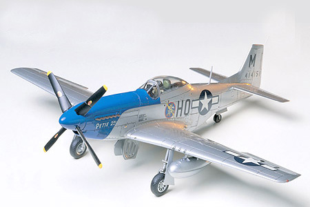 61040 North American P-51D Mustang 8th Air Force | Tienda de Tamiya ...